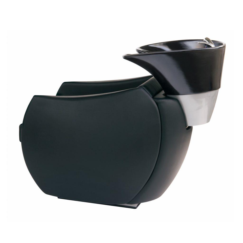 Tondolore Waschsessel mit schwarzem Becken