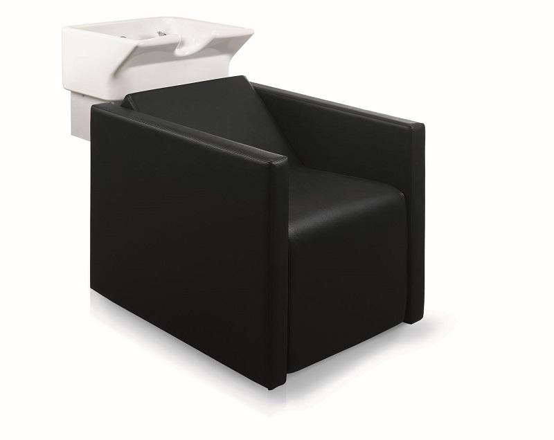 Waschsessel eckige Form