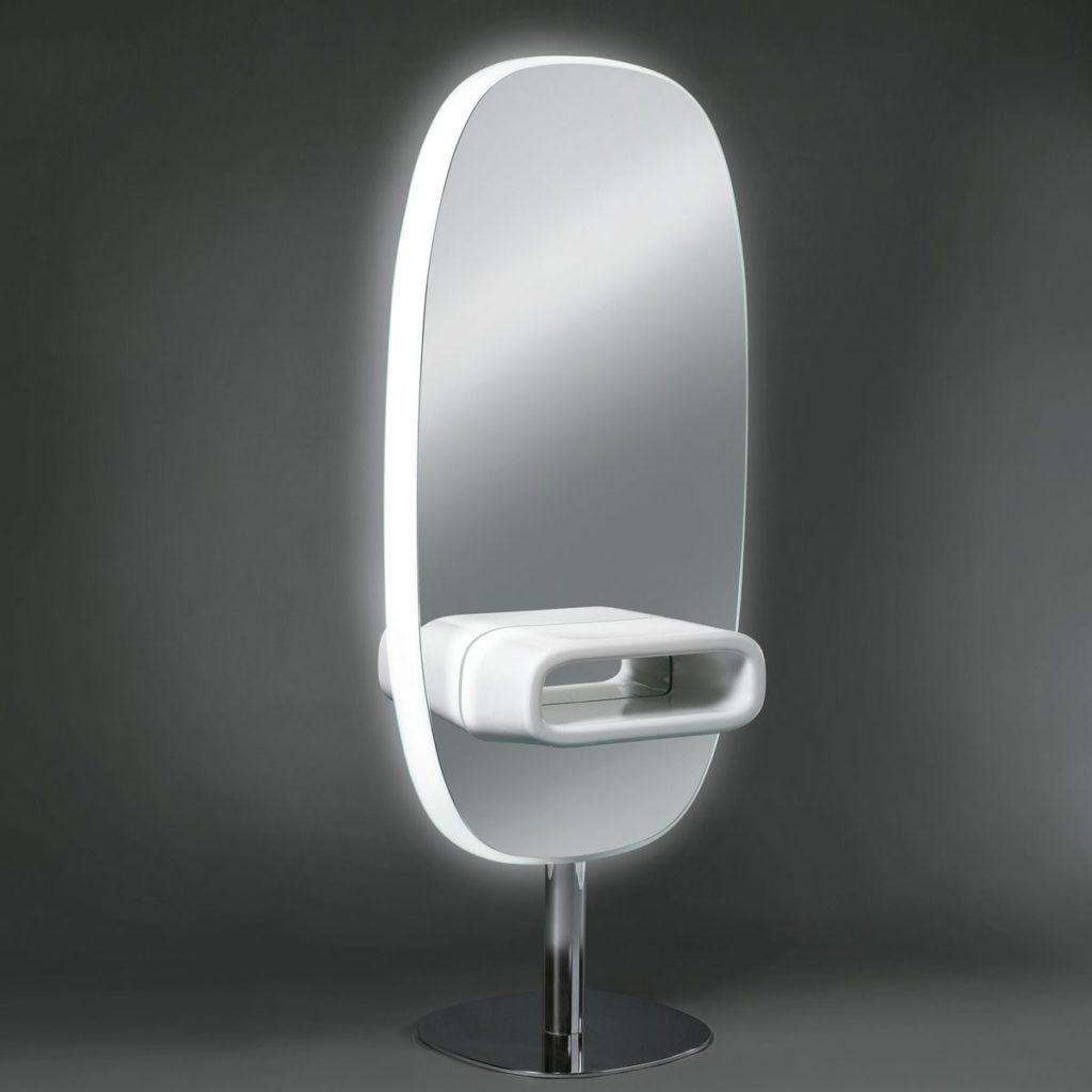 Friseur-Doppelspiegel